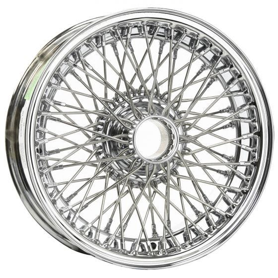 14x6 Dayton Wire 72 Spoke Chrome TT