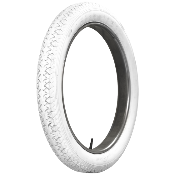 Firestone Bias Ply | Clincher | All White | 30X3.5