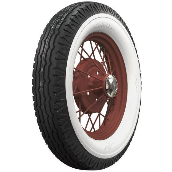 Firestone | 3 1/4 Inch Whitewall | 550-18