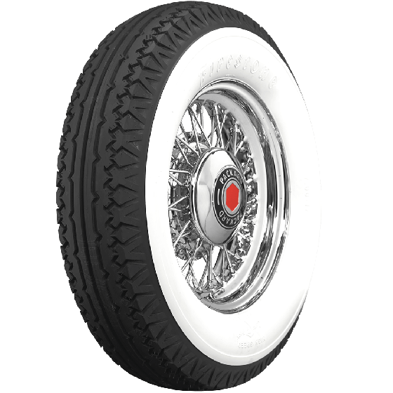 Firestone | 4 3/4 Inch Double Whitewall | 750-17