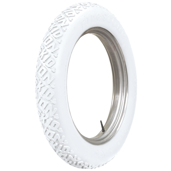 Firestone Non Skid | All White | 33X4