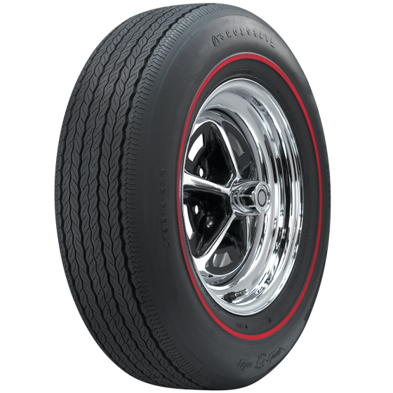 Firestone Wide Oval Radial | Redline | GR70-14