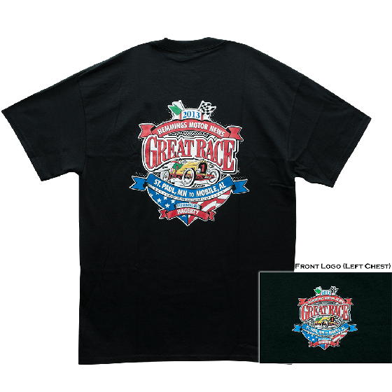 Great Race T-Shirt - Black