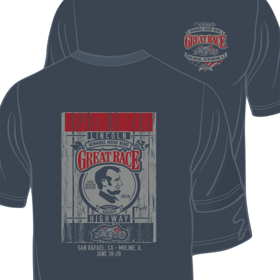 2016 GR Lincoln Blue Tee Shirt | Large