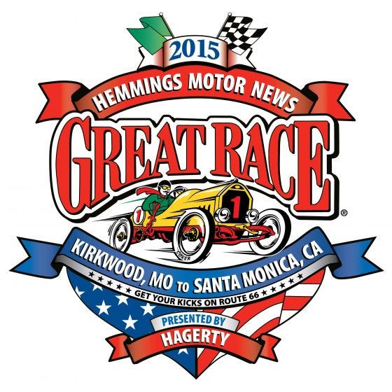"Great Race 2015 Decal | 48""x48"""
