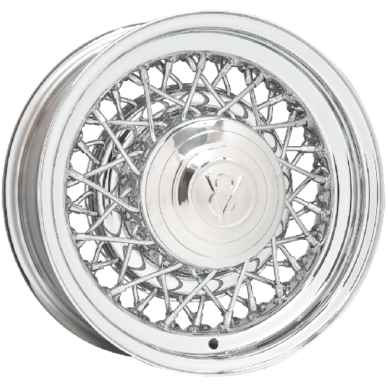 "15x8 Hot Rod Wire | 5x4 1/2, 5x4 3/4 "" bolt 