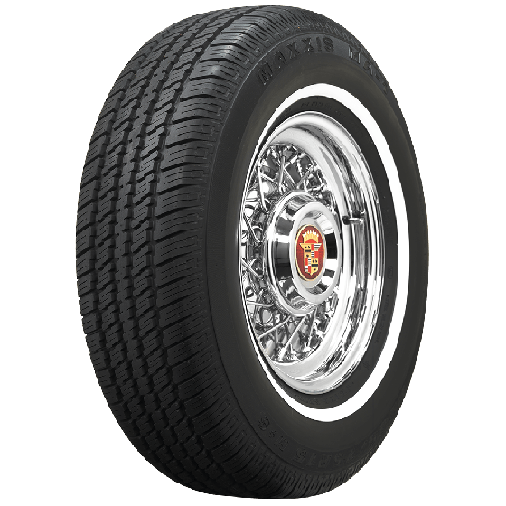 Maxxis | 3/4 Inch Whitewall | 225/70R15