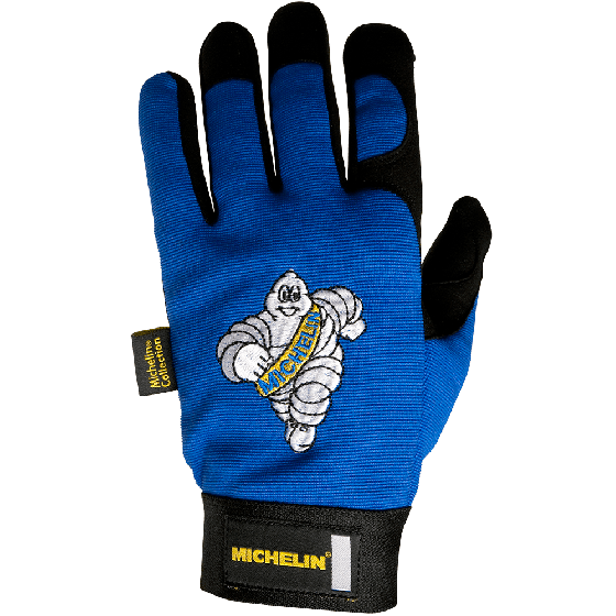 Michelin Mechanic Gloves | Blue | Large