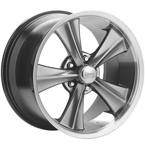 "18x10 Booster Modern Muscle | 5x4.75"" bolt 