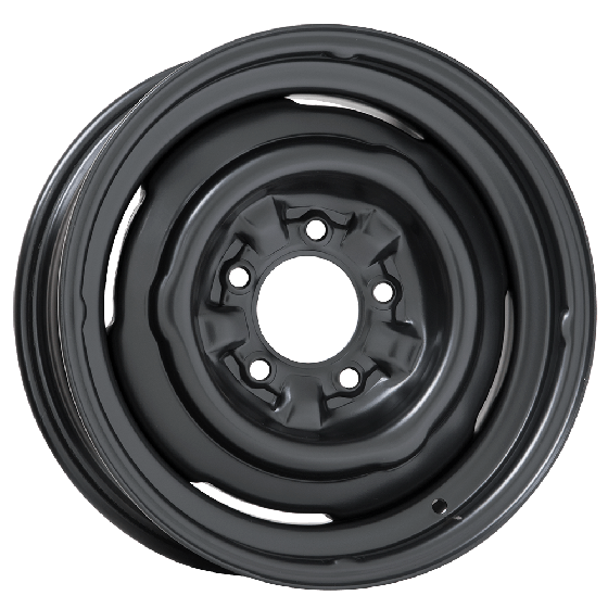 O.E. Tri Five Chevy Steel Wheel