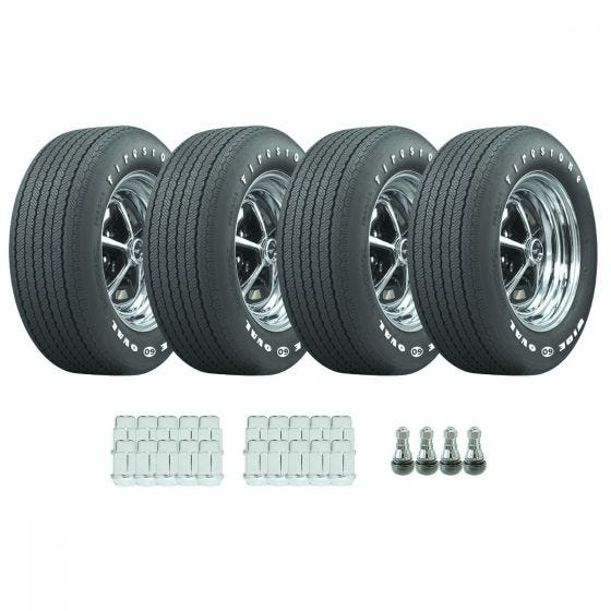1970 - 1972 Mustang Radial Tire / Wheel Package