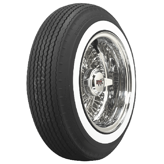 Premium Sport Tires | Wide Whitewall