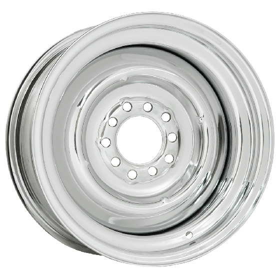 Solid Wheel | Chrome