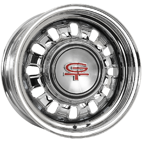 "14x6 Ford Styled Steel 1968-69 | 4x4 1/2"" bolt 