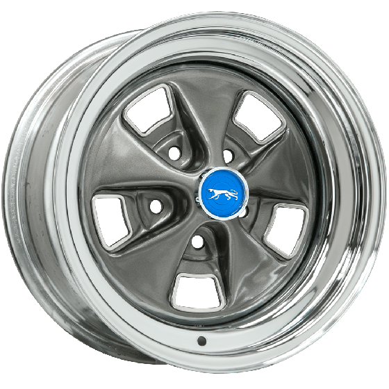 "15x8 Cougar 1969-70 | 5x4 1/2"" bolt 
