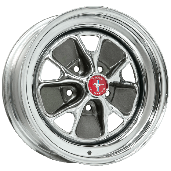 "15x7 Ford Styled Steel | 5x4 1/2"" bolt 