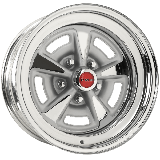 Pontiac Rallye II Wheel | Chrome