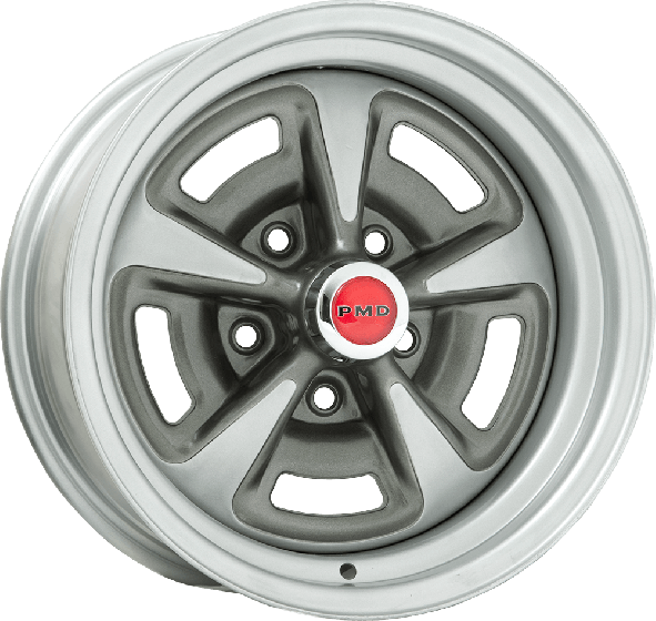 "15x7 Pontiac Rallye II | 5x4 3/4"" bolt 