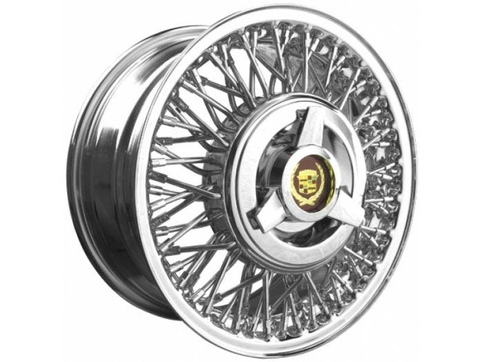 16x7 Cadillac Eldorado FWD Wheel | Drum Brake