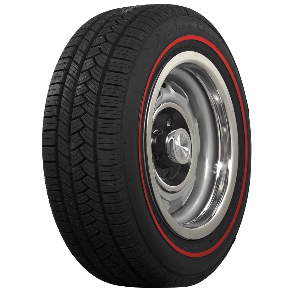 Red Line Tires >> American Classic Redline 215 55r16 Coker Tire