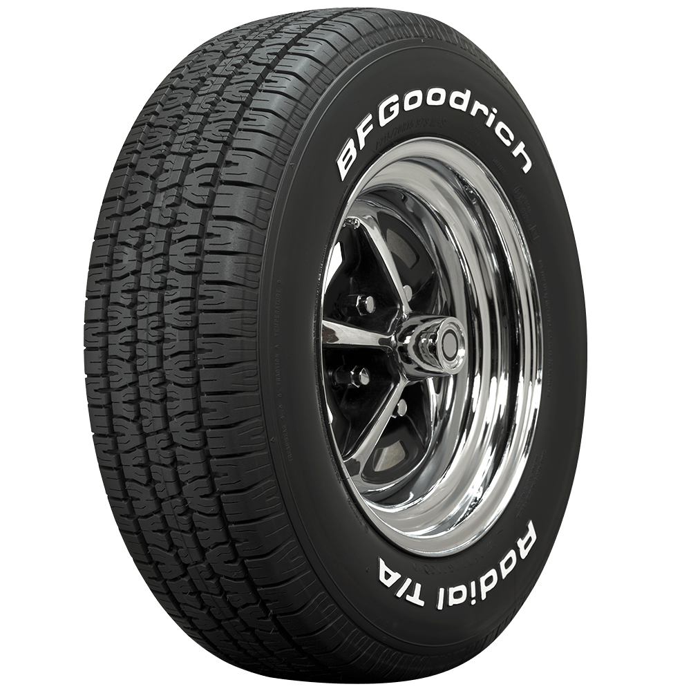 Bf Goodrich At >> Bf Goodrich Radial T A 295 50r15 White Letter Coker Tire