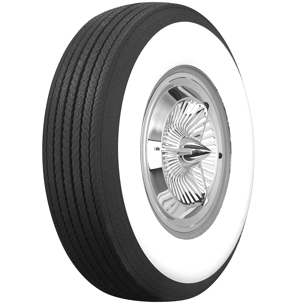 Michelin Whitewall Tires >> Coker Classic Bias Ply Deluxe Wide Whitewall