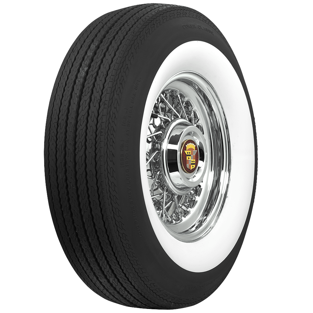 15 Inch Tires >> Coker Classic 3 1 4 Inch Whitewall G78 15