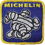 Patch | Vintage Square Michelin Bibendum