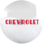 Chevrolet Cap For Hot Rod Steel Wheel | 8 1/4"