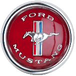 Mustang Pony Cap | Red | 1965-67