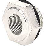 Nickel Reducer Nut | Wood Wheel
