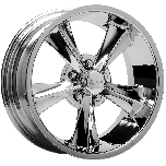 Rocket Booster Classic Muscle Wheel | Chrome