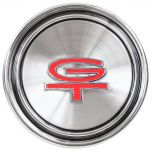 Ford Styled Steel cap | GT Emblem | 1968-69