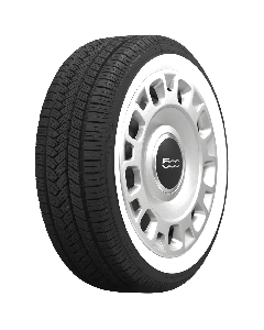 American Classic Radial | 1 5/8 Inch Whitewall | 185/55R15