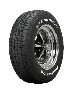 BF Goodrich Radial T/A   White Letter   245/60R15