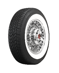 Coker Classic | 2 1/2 Inch Whitewall | 225/75R14