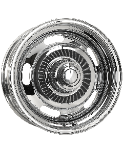 Chrome Chevy Rally Wheels Corvette Rallye Wheels