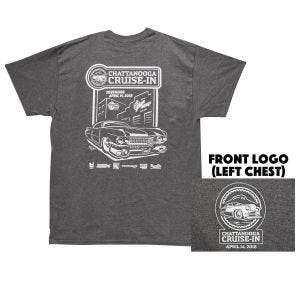 Coker Tire Cruise In 2018 T-Shirt - Small