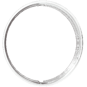 Trim Ring | 17 Inch Hot Rod Ribbed