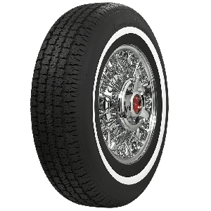 American Classic Radial | 1 Inch Whitewall | 205/75R15
