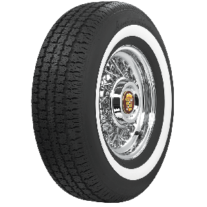 American Classic Radial | 1.6 Inch Whitewall | 235/75R15