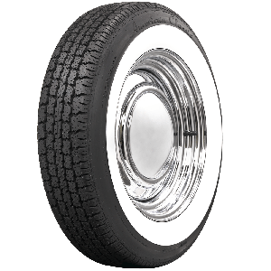 American Classic Radial | 2 1/4 Inch Whitewall | 165R15