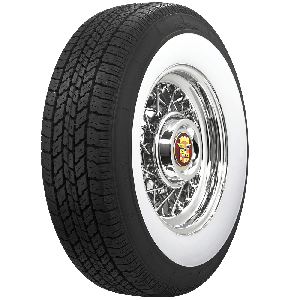 Coker Classic | 3 1/8 Inch Whitewall | 235/75R15