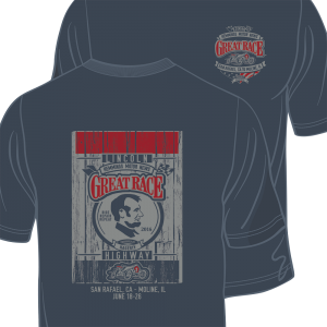 2016 Great Race Lincoln Tee Shirt