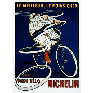 Postcard | Michelin | Pneu Velo
