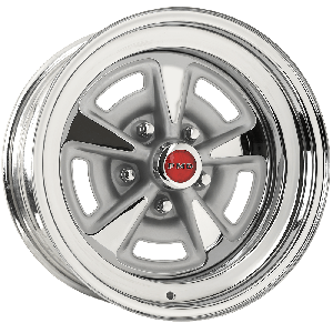 Chrome Pontiac Rallye II Wheel Chrome Rallye II Wheels