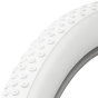 Coker Classic All White Tire | Button Tread