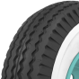 Cushman Scooter Tire | 2 1/4 Inch Whitewall | 400-8