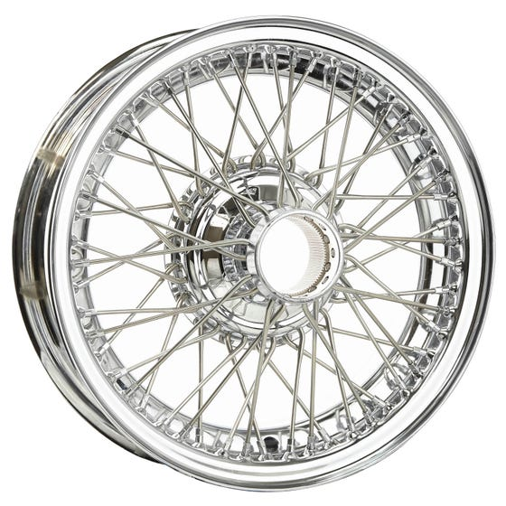 16x5 Dayton Wire 54 Spoke Chrome TT
