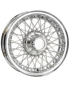 Dayton Wire Wheel-Jaguar-XK120, XK140, XK150-Tube Type-16x5-60-Chrome